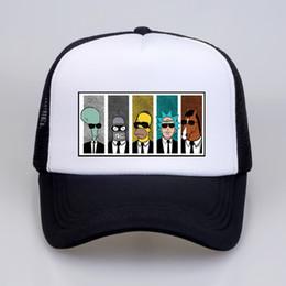 2019 paar mütze für den sommer Anime Baseball Caps Coole TV Mütze Sommer Print Männer Frauen Paar Geek BoJack Horseman Hysteresenhüte Freund Hut günstig paar mütze für den sommer