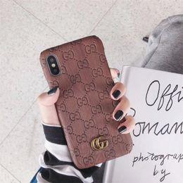 2020 capas iphone Um pedaço de luxo phone case para iphone 6 s 7 8 p x xs marca de moda marca de metal telefone de volta capa para presentes desconto capas iphone