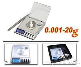 Escala de recarga online-20 x 0.001g Escala digital Básculas de gramo Quilates Grano Recargar Joyas Miligramo