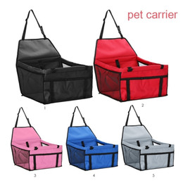 Impermeabile seggiolino auto per animali domestici traspirante pet gatto cane borsa da viaggio borsa per cani cestino per gatti prodotti per animali domestici da cagnolino fornitori