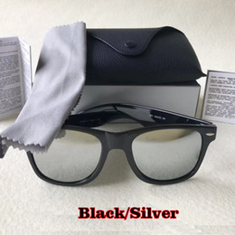 Ray sonnenbrille online-Luxus-Designer-Sonnenbrillen Ray Quadrat Marke Azetatrahmen Echt UV400 Sonnenbrille original Ledertasche