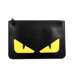 Designer Marke Geldbörse Kleine Monster Handtasche Leder Umschlag Taschen Männer und Frauen Mode Handtaschen Geldbörse Hohe Qualität von Fabrikanten