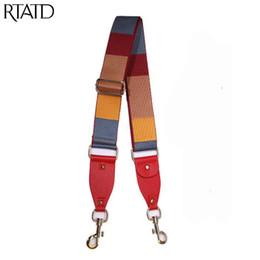 3ab7683eef New Women Bag Strap Fashion Stripe Design Lady Tracolla Fibbia oro Regolare  manico di ricambio per borse da donna Cinture Q0172 sconti cinghie di spalla  ...