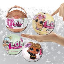 bambole LOL LOL nuovo arrivo Grande sorpresa bambola Serie 1 edizione commemorativa e Serie 3 LOL bambole sorpresa 10 centimetri uovo della ragazza gi Natale da