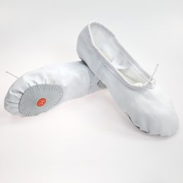b51b653cb 2019 New Canvas Soft Ballet Shoes Dance Women Shoes Sneakers Girls Women  Slippers White Flats Red Pink Ballet