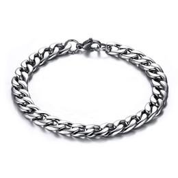 Bracelet de chaîne de lien de torsion de Figaro d'acier inoxydable des hommes de largeur de 8MM plaqué par or 18K ? partir de fabricateur