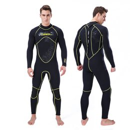 26b74279811ae Men Women's Thermal Wetsuits Full Suit Sleeves 3mm Neoprene Youth Adult's  Diving Swimming Snorkeling Surfing Scuba Jumpsuit Warm Swimwear