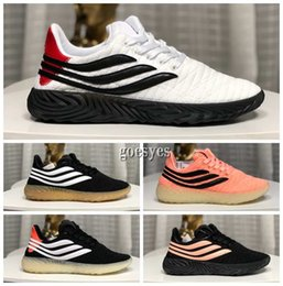 high soled shoes Promo Codes - 2019 Sobakov Mens running Shoes High Quality Sobakovs Breathable rubber soles restoration outdoor sports womens Sneakers size 5-10