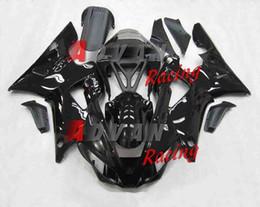 3Gifts nuevos kits de carenados aptos para Yamaha YZF 1000 R1 00 01 YZF-R1 2000 2001 plástico ABS carenado de la motocicleta conjunto carenado negro personalizado desde fabricantes