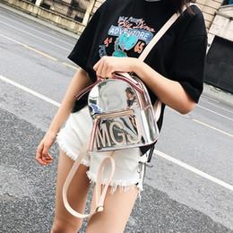 b00597ade7bf Free Shipping 2019 New Women Backpacks Fashion Laser Shoulder Bag Leisure  Trend Woman Bag Korean Version Shoulders Bag