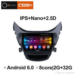 """автоматический радио gps телевизор цифровой Скидка 9"""" 2.5 D Nano IPS экран Android Octa Core/4G LTE автомобильный медиаплеер с GPS RDS радио/Bluetooth для Hyundai Avante 2012 - 2016 #3101"""