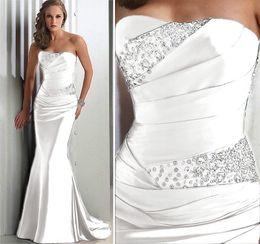 2019 seide nachthemd in voller länge Schnelle Lieferung Brautjungfernkleider Schatz-Korsett schnüren sich oben Satin-lange Braut-Mädchen-Kleid-Mädchen der Ehre