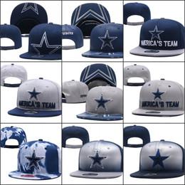 snapback hater rosa Rebajas 2019 Dallas sombreros ajustables Logotipo de equipo de bordado de vaqueros Snapback Todo el equipo Wholeasle Gorros de punto Gorras Un tamaño