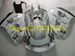 carenado rs Rebajas Kit de carenado de motocicleta para SUZUKI GSXR 600 750 1996 2000 GSX-R 600 750 GSXR600 GSXRR750 96 98 99 00 Faiirngs blanco negro conjunto + regalos