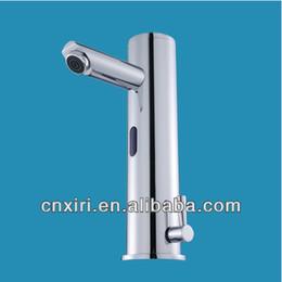 Toque torneiras grátis on-line-Auto Touch livre Sensor Faucet tap XR8804 bacia torneira de água de fecho automático