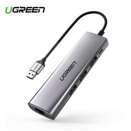cable dvi d vga Rebajas envío del USB adaptador Ethernet USB 3.0 a 3.0 HUB para RJ45 adaptador de red Ethernet MacBook Aire de tarjetas USB Lan