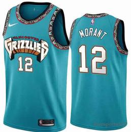2019 jon lester jersey Memphis de homensGrizzlies Jersey 12 Ja Marinha Morant 2019/2020 Swingman Jersey basquete Cidade Jerseys 213