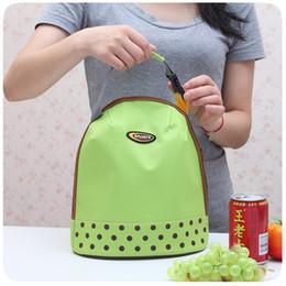 sac à lunch Promotion 4 styles isolé Lunch Bag Réutilisable Lunch Box Lunch Tote Imperméable À L'eau Sac D'école Bureau D'école pour Enfants Adultes sac de rangement en plein air FFA2116