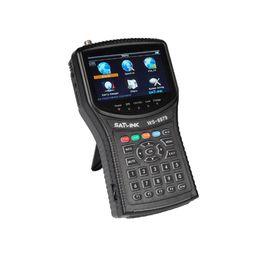 Satlink WS-6979 Buscador de satélites DVB-S2DVB-T2 MPEG4 HD COMBO + Buscador de medidores satelitales de espectro ws-6950 hd buscador de satélites ws6979 medidor desde fabricantes