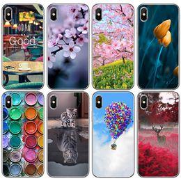 чехлы на заказ Скидка Для Iphone Xs Max Xr 6 7 8 X Plus пользовательский ландшафтный чехол для мобильного телефона модный молодой прозрачный TPU мягкий телефон