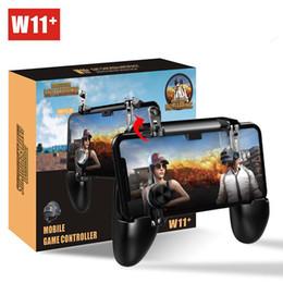 Pubg oyunu kolu W11 Cep Gamepad cep telefonu shell kılıf gamepad tutucu joystick yangın tetik hepsi bir arada pubgpubg nereden cep telefonu fabrikası tedarikçiler
