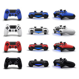 2019 playstation controladores inalámbricos al por mayor PS4 Controlador inalámbrico de juegos ps4 Controlador inalámbrico de juegos Bluetooth Joystick Gamepad PlayStation 4 Joypad para juegos de video al por mayor playstation controladores inalámbricos al por mayor baratos