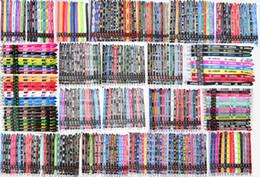 Abzeichenhalter lanyard online-Lanyards Für Schlüssel Umhängeband Für Telefonkarte Abzeichen Gym Schlüsselanhänger Lanyard Schlüsselhalter DIY Hang Rope Keychain Lanyard