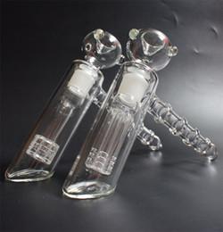Nouveau marteau en verre 6 bras perc percuteur en verre barboteur matrice de pipe à eau pipes à fumer pipe à tabac bong bongs pomme de douche perc deux fonctions ? partir de fabricateur