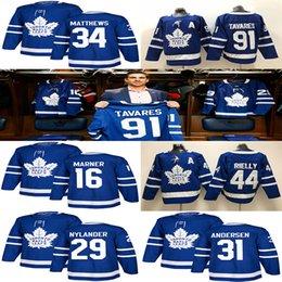 eishockey trikots winnipeg Rabatt Toronto Maple Leafs Trikot 91 John Tavares Hockey Trikots 97 Connor McDavid Herren 34 Auston Matthew 16 Mitchell Marner Winnipeg Jets 29 Patri