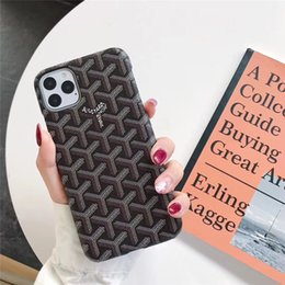 "iphone case fashion brand Promo Codes - New Case For iPhone 11 pro max 5.8"" 6.1"" 6.5"" X Xs Max XR 8 7 Plus Phone Case Branding Designer Cover Shockproof Fashion protective Cover"