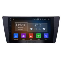 Navigazione GPS stereo per auto Android 9.0 con schermo multi-touch da 9 pollici per BMW 3 serie 2005-2012 E90 E91 E91 E92 E93 con supporto per auto Bluetooth dvd da