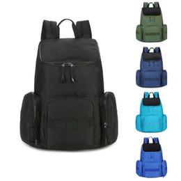 a5121de67829c Brand New Designer Rucksack Schwarz Grün Blau Große Kapazität Wasserdichte  Reisetaschen Mode Mens Womens Outdoor Wandern Tasche günstig grüner  reiserucksack