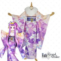[Per-sale] 2018 аниме судьба / Grand Order Медуза концептуальные кимоно печати косплей костюм полный комплект для женщин Хэллоуин Бесплатная доставка от
