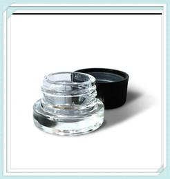 Prensa de aceite esencial online-Embalaje a prueba de niños frasco de vidrio con tapa de vidrio grueso PressTwist de contenedores para el concentrado de aceite esencial de embalaje completamente obediente
