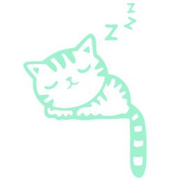 Fluoreszenzschalter online-Cartoon Luminous Decals Tiere Fluorescent Glow Kinderzimmer Katze Wohnkultur Schalter Wandaufkleber