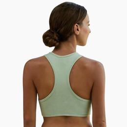 bd82d45bc2 Active Wear Sujetador deportivo a estrenar para fitness Yoga Sport Top con  almohadilla extraíble Push Up Gym Vest