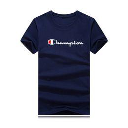 Más el tamaño de marca camisetas online-Tallas grandes 5XL 2019 nueva camiseta de campeón camiseta de desgaste de los hombres camiseta 3D diseñador de ropa chico camiseta deportiva camiseta harajuku camiseta de manga corta