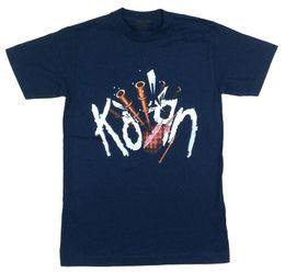 Blaue paspeltasche online-Korn Bag Pipes Bild Marine-Blau-T-Shirt New Merch 2000 Riesen-Nos Retro O Ansatz T-Shirt
