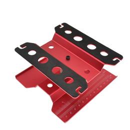 Suporte Reparação de metal de alumínio RC Car Trabalho Workstation 360 graus de rotação Para 1/8 1/10 1/12 1/16 Escala Modelo de Fornecedores de servo de alto torque