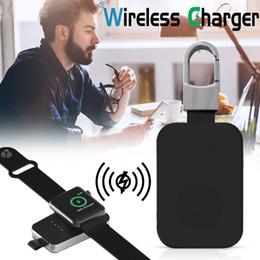 Montre Cable de carga para Apple Watch Series 1 3 4 2 Paquete de baterías externas QI Cargador inalámbrico Banco de energía 950 mah portátil exterior Mini desde fabricantes