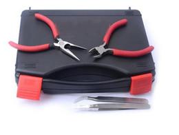 rda e cig kits Promotion Baguette magique outil vape kit maître e-cig 6 IN 1 kit de bricolage utilisé pour la cigarette électronique rda rba