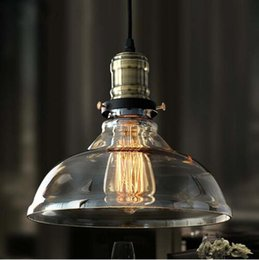 2020 lámparas colgantes de cristal vintage Luces colgantes de época Retro Lámpara colgante de cristal Russia Loft Luminaria Cocina moderna Comedor Dormitorio Lámpara colgante E27 Portalámparas rebajas lámparas colgantes de cristal vintage