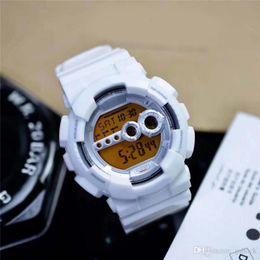 Relógios G Estilo SHOCK anti-magnéticos impermeável Sports pulso automático Auto luz LED Relógio com caixa de
