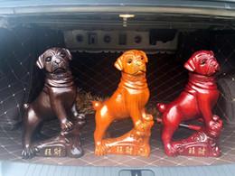 sapatas da figura da forma Desconto Clássico Redwood criativo Dog WangCai Decoração Bar Restaurante Outdoor Indoor Sala Escritório presente Boutique Moda