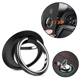 Telefon-smart ring online-Fingerring handy smartphone ständer halter für iphone 7 plus samsung huawei smart phone ipad mp3 auto halterung ständer