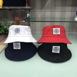 nuovo 4 colori cp pietra cappelli da ricamo cappelli esterni uomini donne unisex berretti da sole cappelli di cotone avaro cappelli da