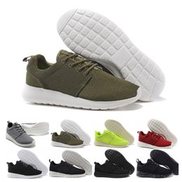 casual walking running shoes Promo Codes - Top Sale Run Men Women Casual Shoes London Olympic Ros black red white grey blue Outdoor Walking Sneakers Shoes us 5-11