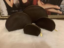 grandes casos de maquiagem preta Desconto 4 pcs definir Mulheres sacos cosméticos viagem famoso designer bolsa de maquiagem bolsa compõem as senhoras de saco bolsas organizador bolsa de higiene