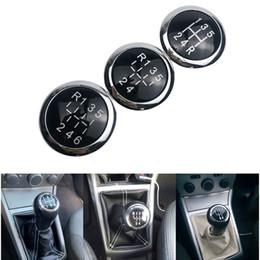 2019 lexus corolla Placa palillo de engranaje del coche Perilla de ajuste Casquillo del emblema de la insignia superior para Opel Astra H III CORSA D 2004-2010 coche accesorios de estilo