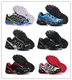 Salomon Speed Cross 4 Горячая Salomo Peedcross 3 Trail Лучшее Качество Женщины Открытый Кроссовки Бег Спортивные Модные Кроссовки Открытый Прогулки Водонепроницаемая Обувь от